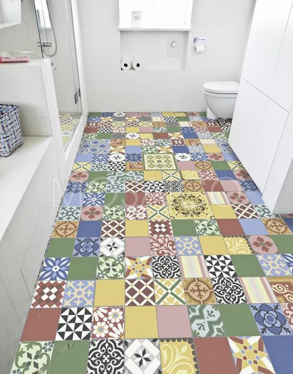 Patchwork tendance couleurs vari es mosaico for Mosaico group