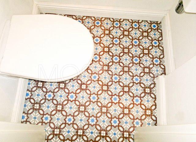 Galerie photo deuxi me w c mosaico - Zementfliesen koln ...