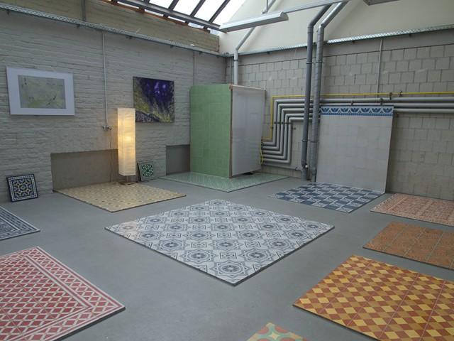 Showroom cologne mosaico - Zementfliesen koln ...