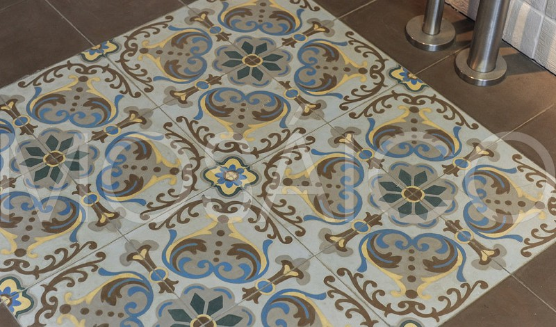 Mainz mosaico - Zementfliesen koln ...