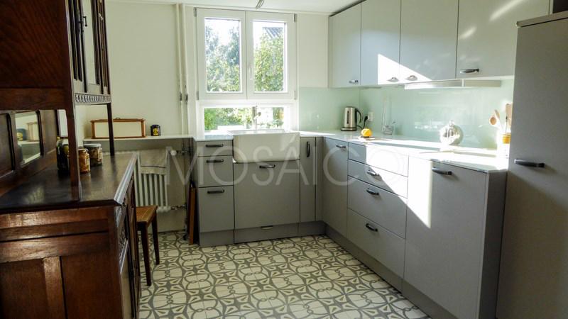 Galerie photo ciment cuisine mosaico - Zementfliesen koln ...